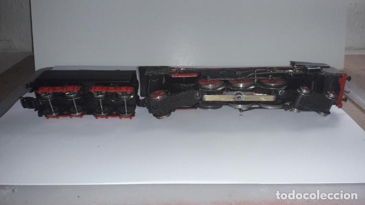 Trenes Escala: MARKLIN LOCOMOTORA VAPOR REF. 01097 CON PATIN , TREN ANTIGUO, TREN DE JUGUETE - Foto 9 - 229873980
