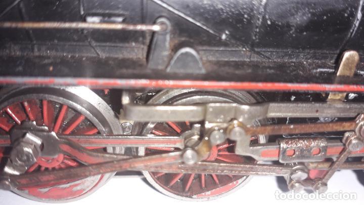 Trenes Escala: MARKLIN LOCOMOTORA VAPOR REF. 01097 CON PATIN , TREN ANTIGUO, TREN DE JUGUETE - Foto 10 - 229873980