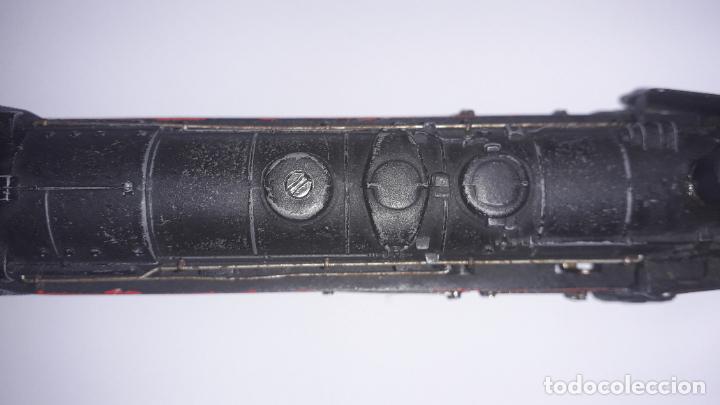 Trenes Escala: MARKLIN LOCOMOTORA VAPOR REF. 01097 CON PATIN , TREN ANTIGUO, TREN DE JUGUETE - Foto 16 - 229873980