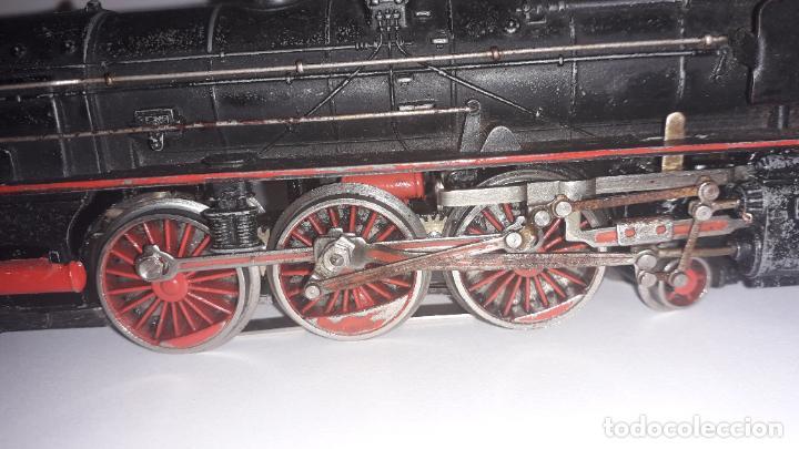 Trenes Escala: MARKLIN LOCOMOTORA VAPOR REF. 01097 CON PATIN , TREN ANTIGUO, TREN DE JUGUETE - Foto 19 - 229873980