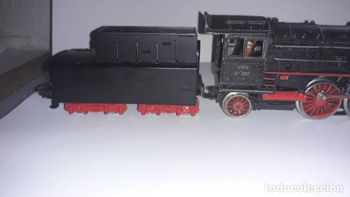 Trenes Escala: MARKLIN LOCOMOTORA VAPOR REF. 01097 CON PATIN , TREN ANTIGUO, TREN DE JUGUETE - Foto 21 - 229873980