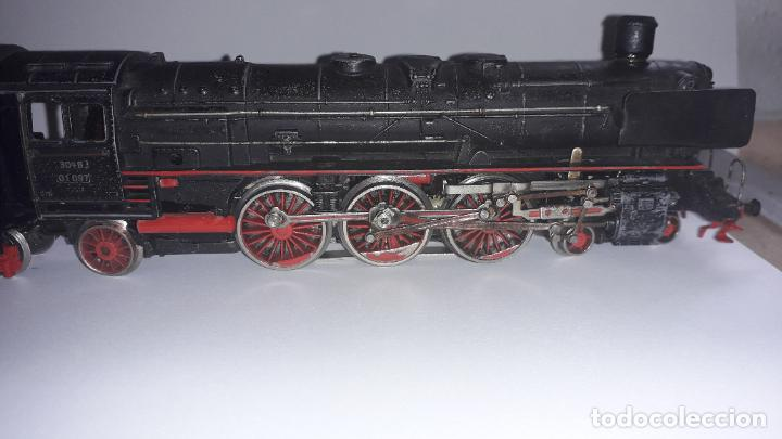 Trenes Escala: MARKLIN LOCOMOTORA VAPOR REF. 01097 CON PATIN , TREN ANTIGUO, TREN DE JUGUETE - Foto 22 - 229873980