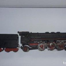 Trenes Escala: MARKLIN LOCOMOTORA VAPOR REF. 01097 CON PATIN , TREN ANTIGUO, TREN DE JUGUETE. Lote 229873980