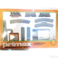 Trenes Escala: JIFFY VENDE CIRCUITO PRIMEX MARKLIN H0 2761 , CON TRANSFORMADOR Y VIAS Y DESVIOS ADICIONALES.. Lote 241317990