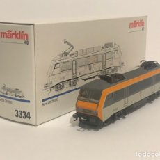 Trenes Escala: MARKLIN LOCOMOTORA ELÉCTRICA DE LA SNCF REFERENCIA 3334 ESCALA H0. Lote 200291587