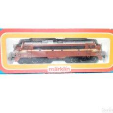 Trenes Escala: RARA LOCOMOTORA MARKLIN H0 3143 EN UN ESTADO EXCEPCIONAL. FERROCARRILES NORUEGOS.. Lote 200568647