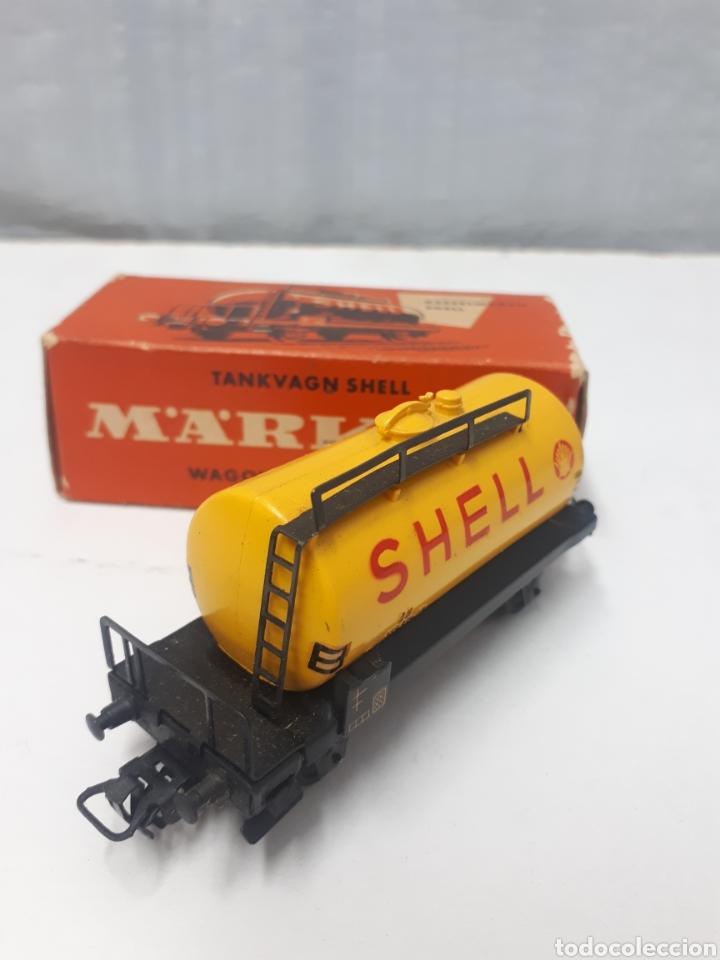 Trenes Escala: VAGON MARKLIN 4502 SHELL - Foto 3 - 200583773