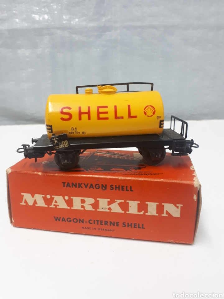 VAGON MARKLIN 4502 SHELL (Juguetes - Trenes a Escala - Marklin H0)