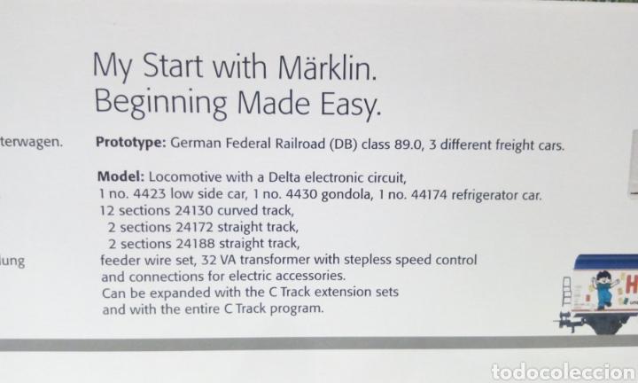 Trenes Escala: COMO NUEVO CIRCUITO INICIACIÓN MARKLIN H0 29145. TRANSFORMADOR 6647 Y CONTROL DELTA MULTITREN 6604 - Foto 21 - 192039112