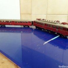 Trenes Escala: MARKLIN 8376 H0 (TRANVIA) CON LUZ INTERIOR Y FUNCIONANDO. Lote 202008777