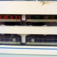 Trenes Escala: MARKLIN REF.40451- FOTO 116- SET CON CAJA ORIGINAL DE 4 COCHES. Lote 203817407