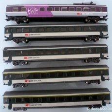 Trenes Escala: 5 COCHES MARKLIN -FOTO 068- VER DESCRIPCION. Lote 203866886