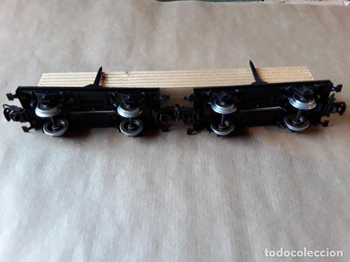 Trenes Escala: Marklin ho vagon doble mercancias madera - Foto 2 - 205159590