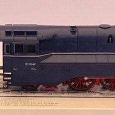 Trenes Escala: MARKLIN H0 LOCOMOTORA DE VAPOR CON TINDER ALTERNA REFERENCIA 33911. Lote 205196772