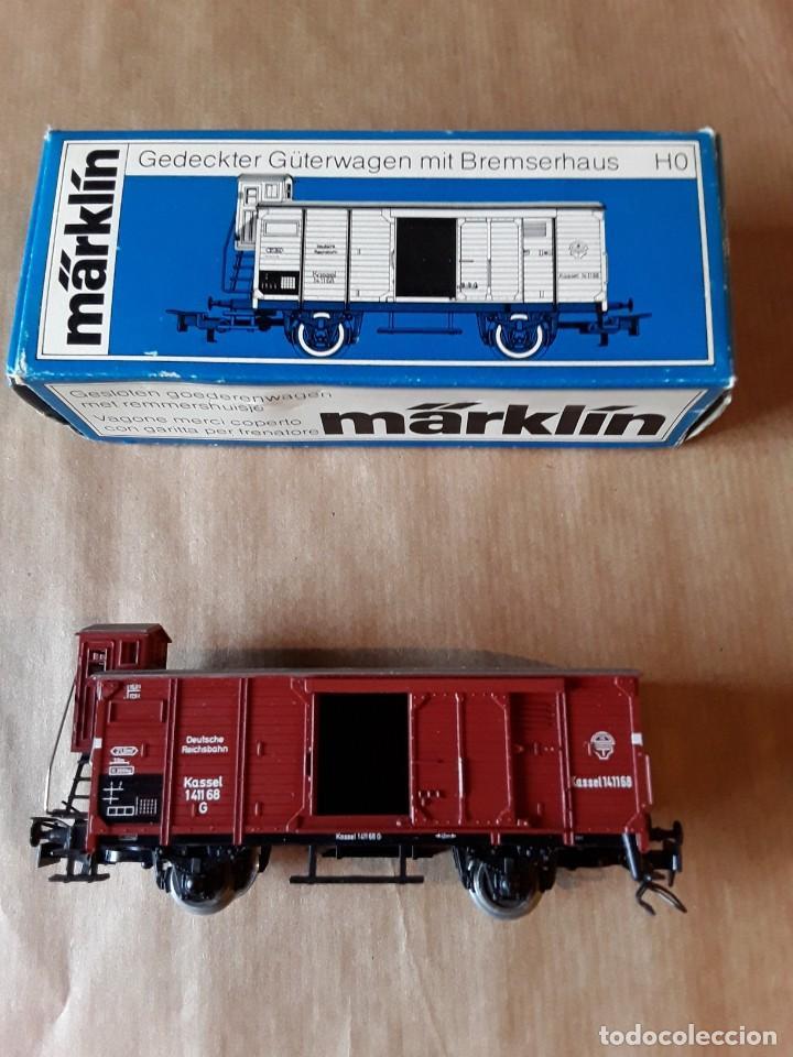 Trenes Escala: Marklin ho vagon de mercancias ref 4695 - Foto 2 - 205304006