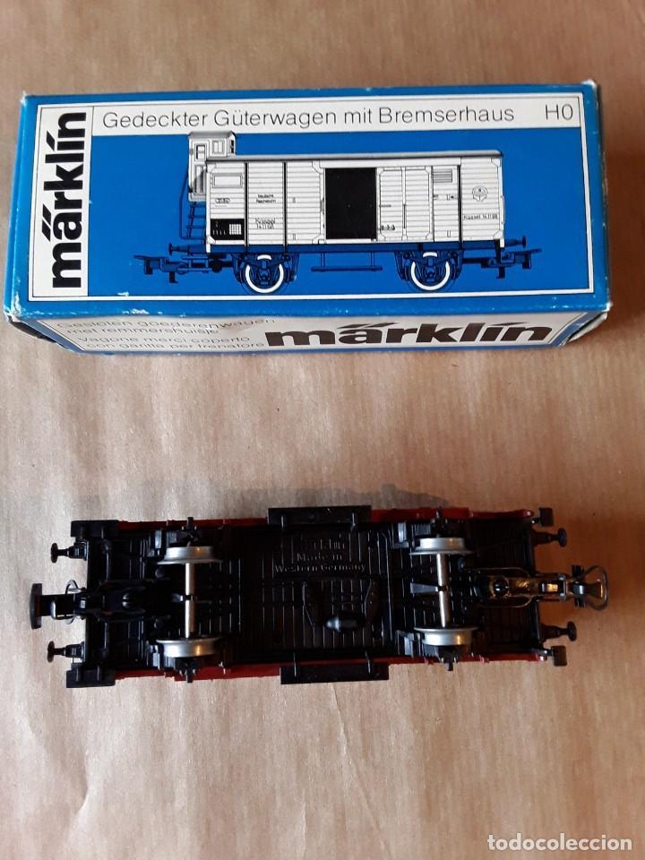 Trenes Escala: Marklin ho vagon de mercancias ref 4695 - Foto 3 - 205304006