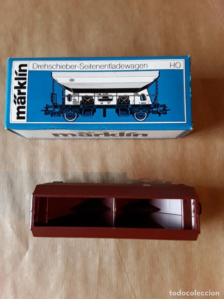 Trenes Escala: Marklin ho vagon tolva con volcado ref.4631 - Foto 2 - 205305172