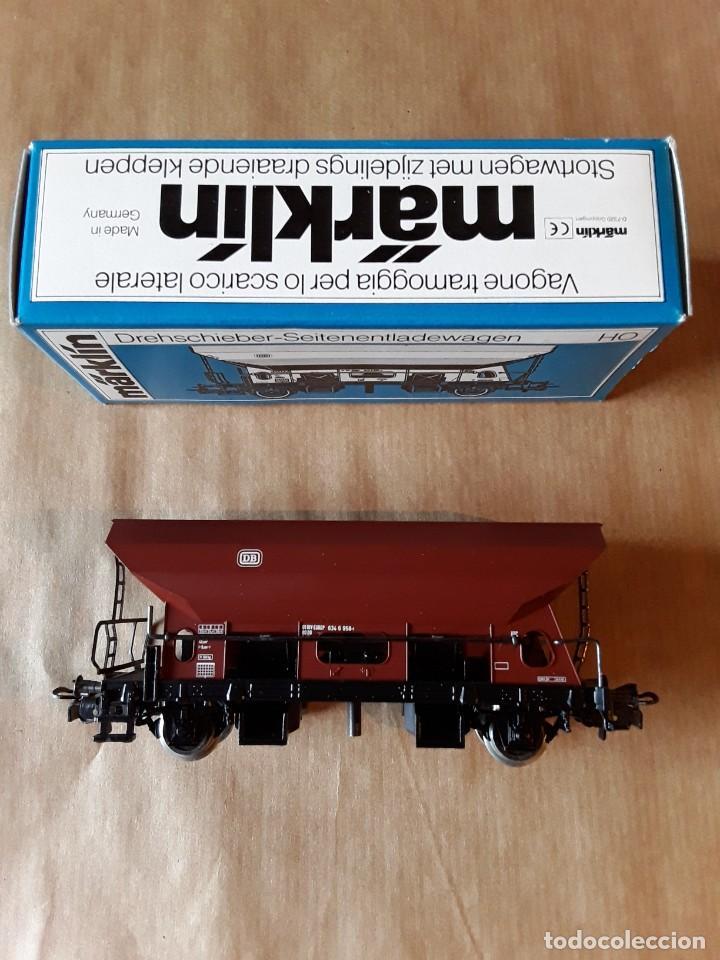 Trenes Escala: Marklin ho vagon tolva con volcado ref.4631 - Foto 3 - 205305172