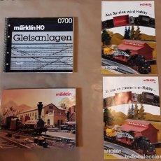 Trenes Escala: MARKLIN HO CATALOGOS. Lote 205858627