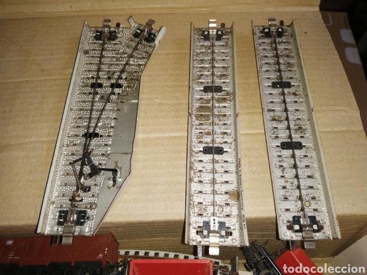 Trenes Escala: Lote MARKLIN vías locomotora y vagones leer descripción - Foto 8 - 179099811