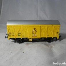 Trenes Escala: VAGÓN CERRADO ESCALA HO DE MARKLIN. Lote 206292600