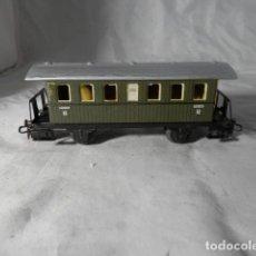 Comboios Escala: VAGÓN PASAJEROS 2 EJES ESCALA HO DE MARKLIN. Lote 207074003