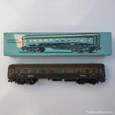 Trenes Escala: COCHE DE VIAJEROS PARA TRENES RÁPIDOS FERROCARRIL ITALIANO MARKLIN H0 REF 4036. Lote 207230492