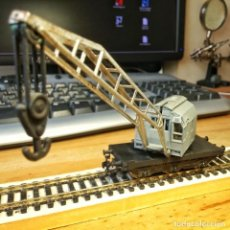 Trenes Escala: GRUA KRUP-ARDELT MARKLIN. Lote 207598278