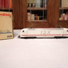 Trenes Escala: MÄRKLIN H0 3438 LOCOMOTORA BR 128 AEG DIGITAL NUEVA. Lote 208288046
