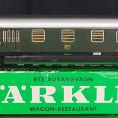 Trenes Escala: MARKLIN VAGÓN RESTAURANTE - 4024 - ESCALA HO - CON CAJA.. Lote 208457670