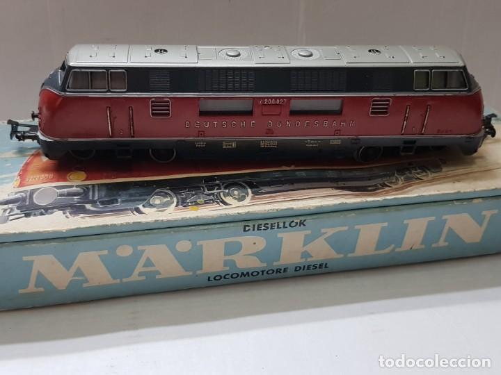 Trenes Escala: Locomotora Marklin ref.3021 en caja original - Foto 2 - 208902313