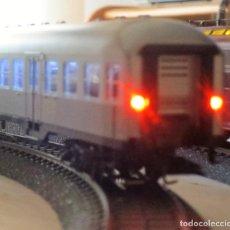 Trenes Escala: KIT INSTALACION LUZ DE COLA PARPADEANTE VAGONES H0.. Lote 208952570