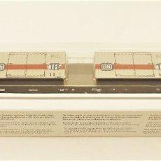 Trenes Escala: MARKLIN 47048 PLATAFORMA CON CONTENEDORES TFG DE LA DB. Lote 209013646