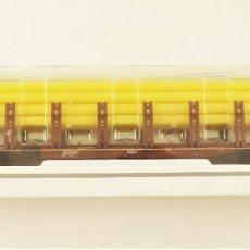 Trenes Escala: MARKLIN 47713 VAGÓN TELERO PORTA TUBOS DE LA DB. Lote 209013921