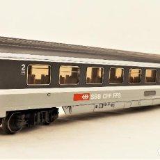Trenes Escala: MARKLIN 4366 COCHE PASAJEROS EUROCITY 2ª CLASE DE LA SBB. Lote 209014895