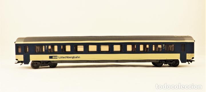Trenes Escala: Marklin 4219 Coche pasajeros 2ª clase de la BLS - Foto 2 - 209015290