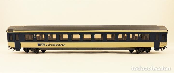 Trenes Escala: Marklin 4219 Coche pasajeros 2ª clase de la BLS - Foto 3 - 209015290