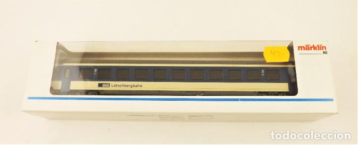 Trenes Escala: Marklin 4219 Coche pasajeros 2ª clase de la BLS - Foto 5 - 209015290