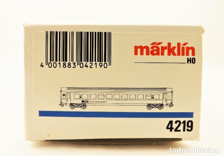 Trenes Escala: Marklin 4219 Coche pasajeros 2ª clase de la BLS - Foto 6 - 209015290