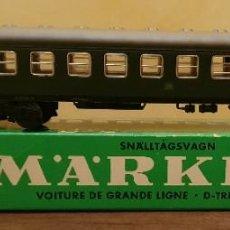 Trenes Escala: MARKLIN 4022 DB - VAGÓN PASAJEROS - HO - CON CAJA.. Lote 209727630