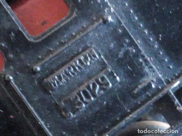 Trenes Escala: Tren marklin 3029,locomotora y 7 vagones hojalata maquina de metal 1960,w germany - Foto 15 - 210538563