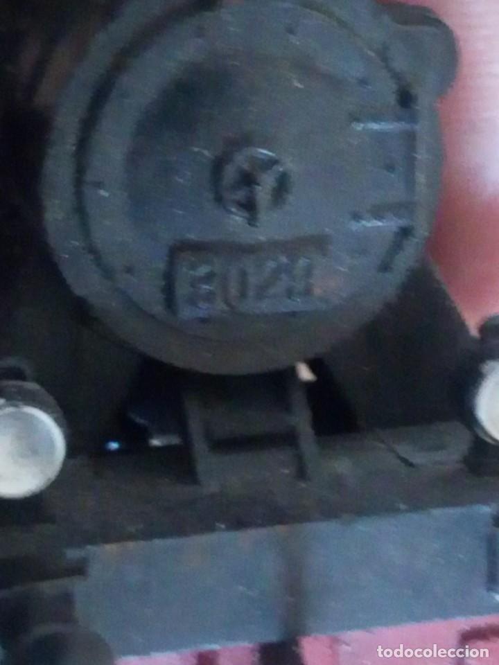 Trenes Escala: Tren marklin 3029,locomotora y 7 vagones hojalata maquina de metal 1960,w germany - Foto 16 - 210538563
