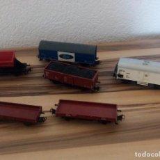 Trenes Escala: LOTE DE 6 VAGONES DE CARGA MARKLIN,W GERMANY. Lote 210538780