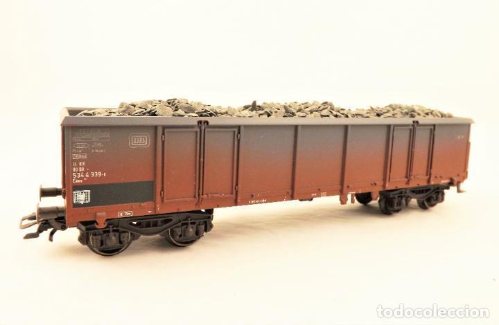 Trenes Escala: Marklin MHI 47191 Vagon abierto con carga - Foto 2 - 211683440
