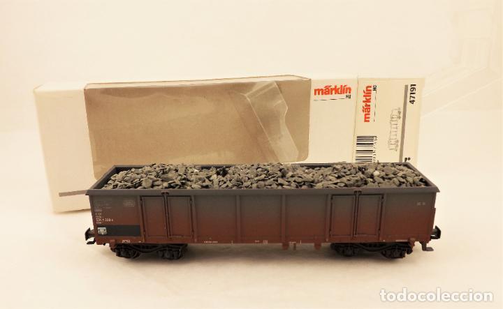 Trenes Escala: Marklin MHI 47191 Vagon abierto con carga - Foto 5 - 211683440