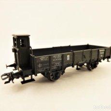 Trenes Escala: MARKLIN 46157 PLATAFORMA CON TELEROS Y GARITA GUARDAFRENOS. Lote 211684006