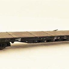 Trenes Escala: MARKLIN 47001 PLATAFORMA CON TELEROS ABATIBLES. Lote 211684323
