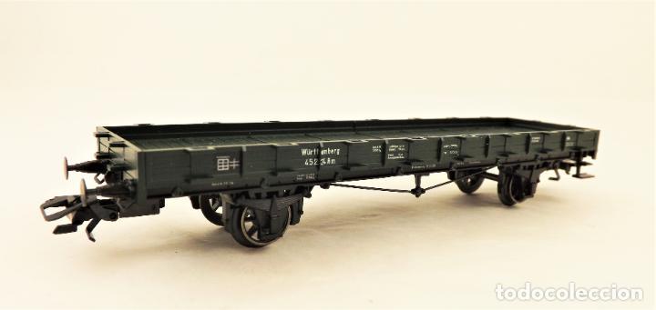 MARKLIN 46360 VAGON PLATAFORMA CON TELEROS (Juguetes - Trenes a Escala - Marklin H0)