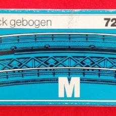Trenes Escala: MÄRKLIN HO - 7269 - M - RAMPA CURVADA - NUEVO EN CAJA, SIN ESTRENAR - PJRB. Lote 236042180