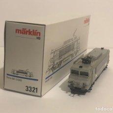 Trenes Escala: MARKLIN 3321 LOCOMOTORA ELÉCTRICA SERIE ESPECIAL METAL TECHNOLOGY SHOW 1990. ESCALA HO. Lote 212755387